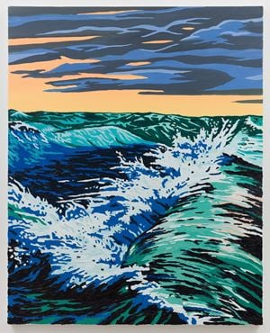 Storm Wave by Alec Egan contemporary artwork painting
