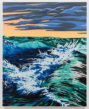 Storm Wave by Alec Egan contemporary artwork