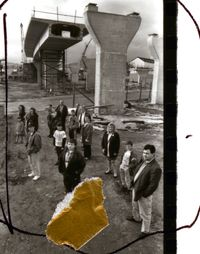 April to August 1993/ Sheet 2, People in Trouble by Broomberg & Chanarin contemporary artwork photography