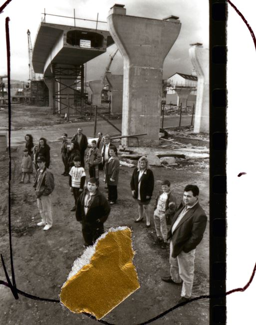 April to August 1993/ Sheet 2, People in Trouble by Broomberg & Chanarin contemporary artwork