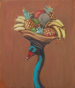 Study for Foreign Liason by Joanna Braithwaite contemporary artwork