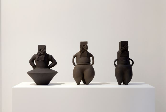 Renee So, Vessel Man, 2016. Exhibition view, Roslyn Oxley9 Gallery, Sydney. Image courtesy Roslyn Oxley9 Gallery. Photo: Jessica Maurer.
