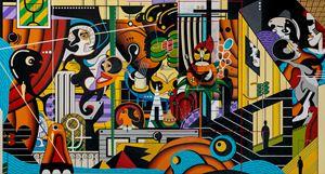 Glassia II: Outsiders by Nisky Yu contemporary artwork
