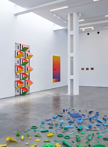 Exhibition view: Group Exhibition, Spectrum, Lisson Gallery, 504 West 24th Street, New York (20 July–27 August 2020). Courtesy Lisson Gallery.