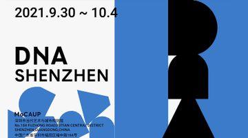 Contemporary art art fair, DnA Shenzhen at Almine Rech, Brussels, Belgium