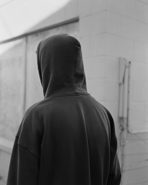 Untitled (hood), Wellington, New Zealand by Harry Culy contemporary artwork photography