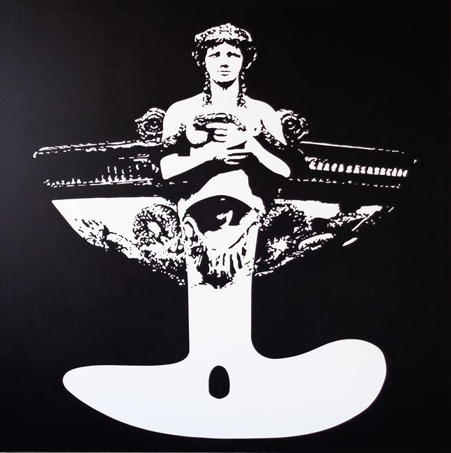 Peu ou prou, elle s'en balance by Ivan Messac contemporary artwork