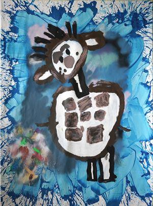 Break Dancer by Daniel González contemporary artwork