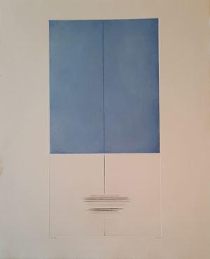 """""""L'espace partagé"""" by Geneviève Asse contemporary artwork"""
