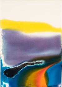 Phenomena Shadow of Big Blue by Paul Jenkins contemporary artwork painting