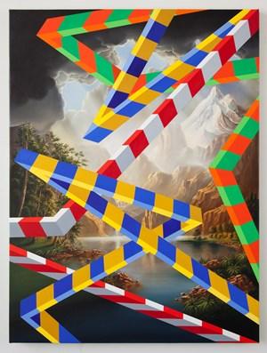 Flatbush by Peter Daverington contemporary artwork