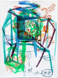 Deduction by Jihyun Lee contemporary artwork painting, works on paper, drawing