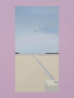 Salk Institute by Yang Bodu contemporary artwork painting