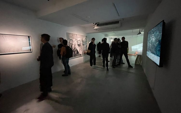 Exhibition view: Xindian Boys, The Untitled Year (Part 4), VT Artsalon, Taipei (17 April–22 May 2021). Courtesy VT Artsalon.