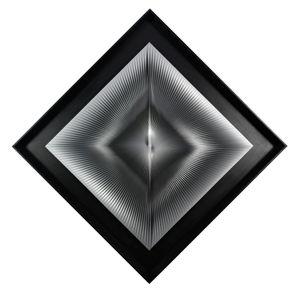 Dinamica metallica by Alberto Biasi contemporary artwork