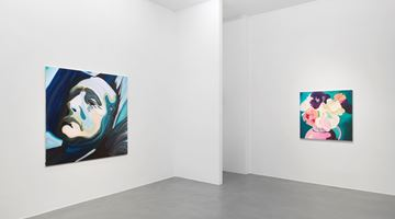 Contemporary art exhibition, Clare Woods, Doublethink at Simon Lee Gallery, London