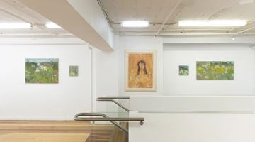 Contemporary art exhibition, Star Gossage, Noho Mai, Ki Te Ahau / Sit With Me at Page Galleries, Wellington, New Zealand