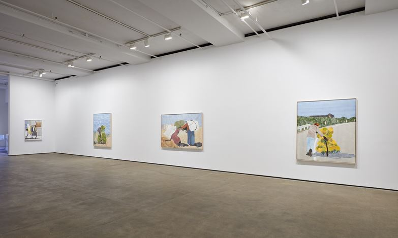 Exhibition view: Huge McCloud, Burdened, Sean Kelly, New York (22 January–27 February 2021). Courtesy Sean Kelly, New York. Courtesy: Sean Kelly, New York. Photo: Jason Wyche, New York.