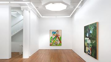 Contemporary art exhibition, Ian Scott, Paintings from the 1960s at Michael Lett, Auckland