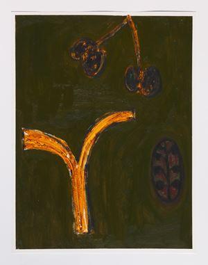 Dowsing Instrument avec Vegetables by Tuukka Tammisaari contemporary artwork