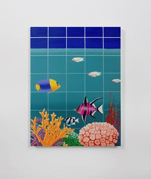 Aquarium by Alec Egan contemporary artwork