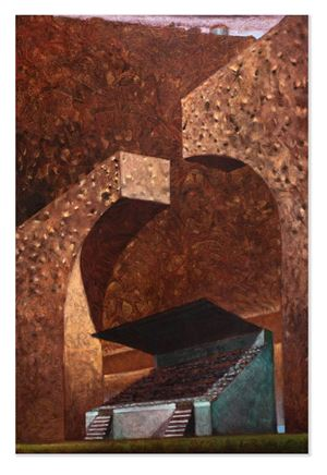 Indifferent Stand by Derek Cowie contemporary artwork