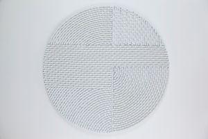 Circles 02 by mounir fatmi contemporary artwork