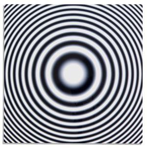 Resolution (focal chart) by Liz Deschenes contemporary artwork