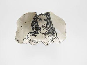 The Gypsy Girl by Ghada Amer contemporary artwork