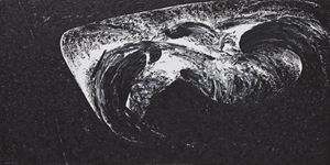 Chercher la lune dans la mer by Ma Desheng contemporary artwork
