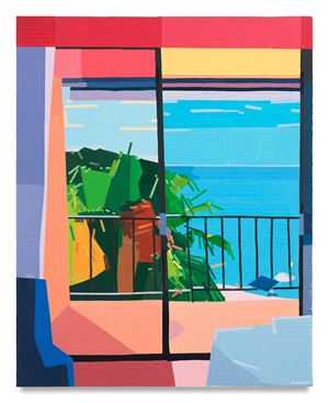 Hotel in Rayol by Guy Yanai contemporary artwork