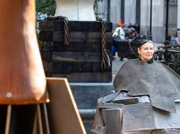 Arlene Shechet Smuggles Politics into Madison Square Park