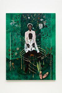 Sentinela Nº 2 by Antonio Obá contemporary artwork painting