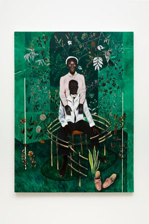 Sentinela Nº 2 by Antonio Obá contemporary artwork