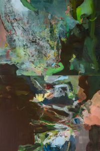 star gazing by Hollis Heichemer contemporary artwork painting