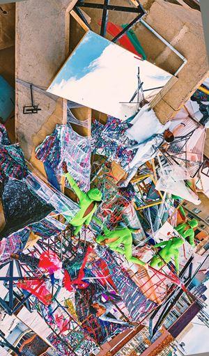 Promises of the City: Burst by Jake Michael Singer contemporary artwork