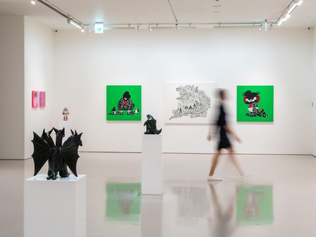 Exhibition view: Group exhibition, ANIMAMIX FLUX, Eslite Gallery, Taipei (7 August–4 September 2021). Courtesy Eslite Gallery.
