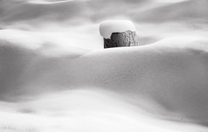 Snow No. 8 by Abbas Kiarostami contemporary artwork