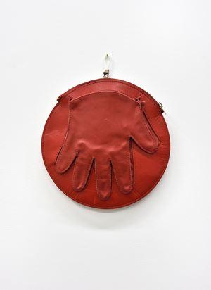 Guanto-borsa schiaffo (Slap-glove bag) by Cinzia Ruggeri contemporary artwork