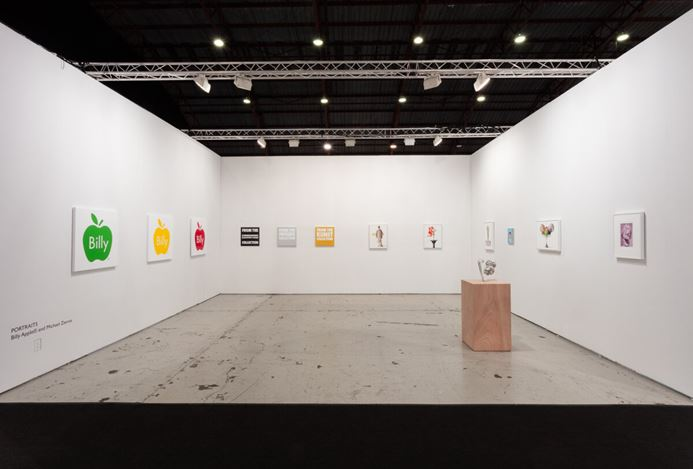 Art Los Angeles Contemporary, installation view, 2019.