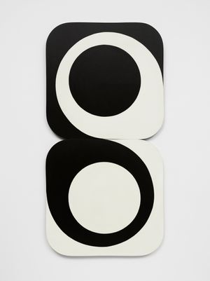 Big 'S' - Circle 8 by Leon Polk Smith contemporary artwork