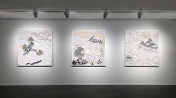 Contemporary art exhibition, Crystal Liu, the fog at Galerie du Monde, Hong Kong