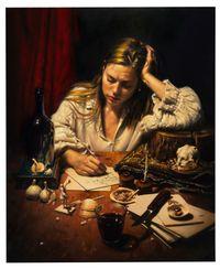 Josefine Skomars, Correspondent by Stephen Appleby-Barr contemporary artwork painting, works on paper