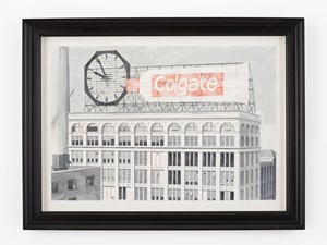 Former world's largest clock – Colgate Factory, Jersey City by Pablo Bronstein contemporary artwork