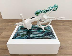 Liegendes Gewächs by Hartmut Neumann contemporary artwork