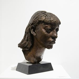 First Portrait of Isabel by Jacob Epstein contemporary artwork