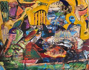 Bingo Night by Angel Otero contemporary artwork
