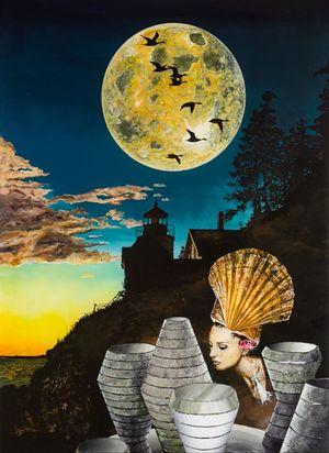 Die Venusfalle by Wolf Hamm contemporary artwork