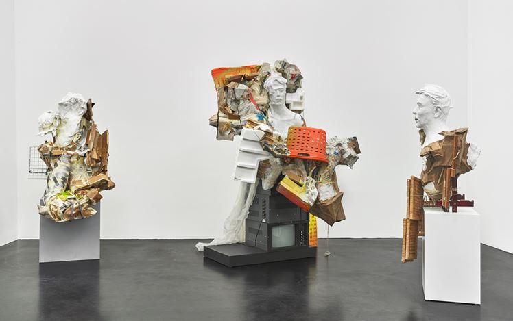 Exhibition view: Danica Barboza, Omnia - Mercurial, Interposition,Galerie Buchholz, Cologne (10 April–1 June 2019). Courtesy Galerie Buchholz.