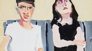 Contemporary art exhibition, Chantal Joffe, Teenagers at Lehmann Maupin, Seoul